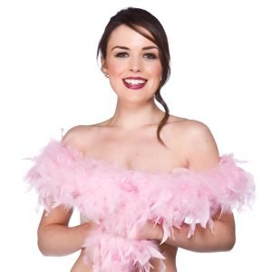 Feather Boa - Baby Pink