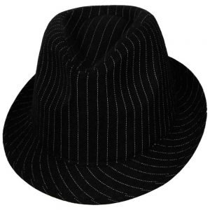 Fedora with pinstripe