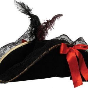 Pirate Hat - Female Deluxe with Feather