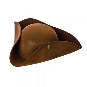 Pirate Hat - Super Deluxe Brown Suede