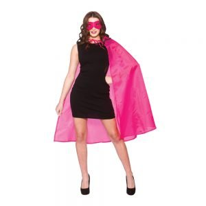 Super Hero Cape w/mask