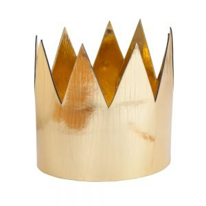 King / Queen Crown Shiny Gold