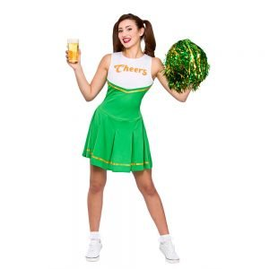 Cheers St Patricks Cheerleader