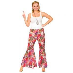 Flower Power Hippie Pants