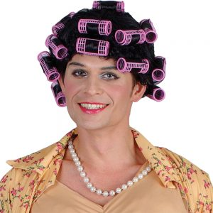 Funny Granny with Rollers