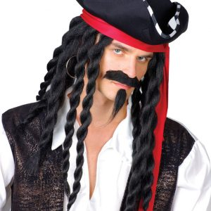Buccaneer Pirate Set (Hat & Wig)