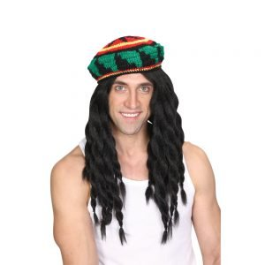 Deluxe Rasta (Knitted Hat & Wig)