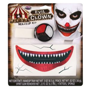FunWorld Big Mouth Killer Clown Makeup
