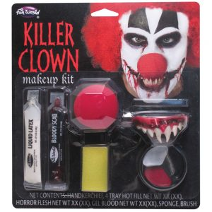 FunWorld Killer Clown Makeup Kit
