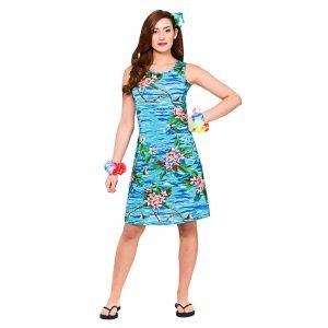 Hawaii Dress - Short Orchid Ocean