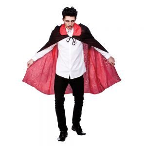 "Reversable Satin Cape with Collar 45"" (115cm)"