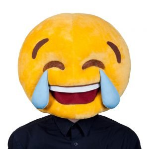 Cry Laughing Head