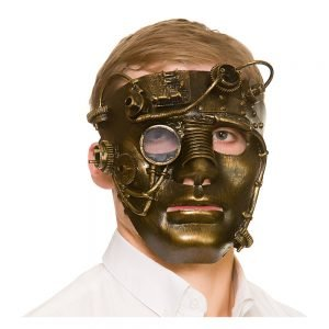 Deluxe Robot Steampunk Mask