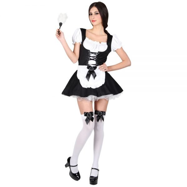 Flirty French Maid