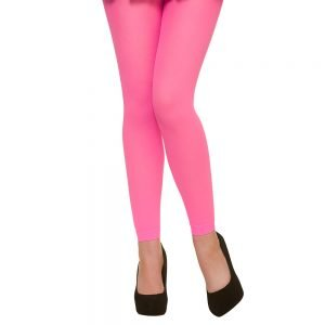 Tights - Footless / Neon Pink