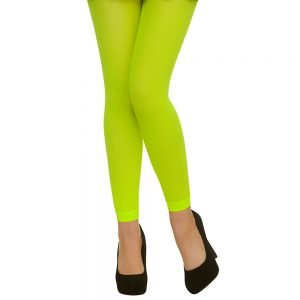 Tights - Footless / Neon Green